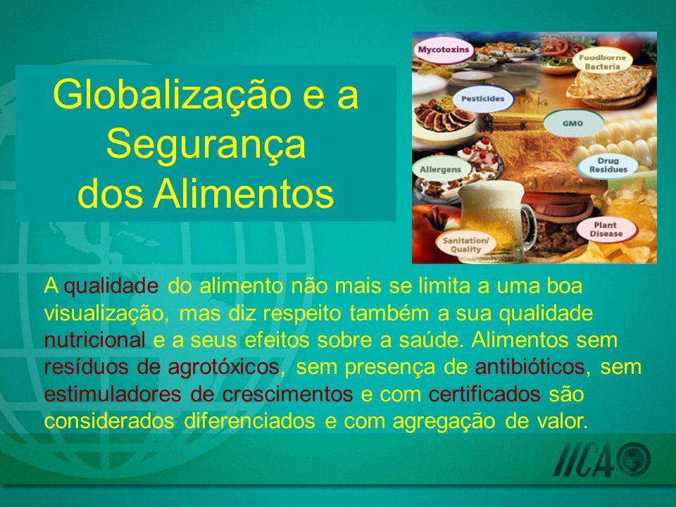 A qualidade do alimento não mais se limita a uma boa visualização, mas diz respeito também a sua qualidade nutricional e a seus efeitos sobre a saúde.