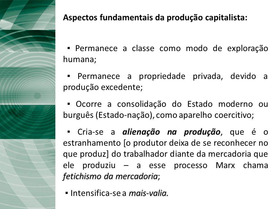 O modo de produção capitalista: é a nova síntese que surge das ruínas do sistema feudal, ou seja, da contradição entre a tese (senhor feudal) e a antí