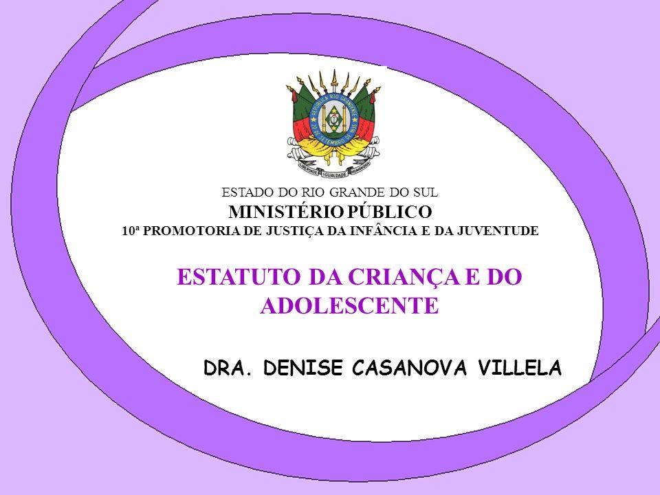 1.Adotou o princípio da PROTEÇÃO INTEGRAL à criança e ao adolescente.