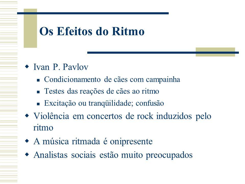 Os Efeitos do Ritmo Ivan P.