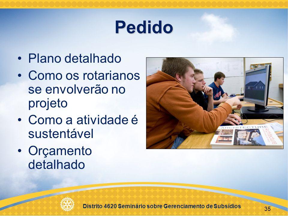 Distrito 4620 Seminário sobre Gerenciamento de Subsídios 36 Financiamento de Subsídios Fundo Mundial da Fundação Rotária equipara 100% das doações de FDUC Contribuições em dinheiro de rotarianos equiparadas em 50% pela Fundação Contribuições em dinheiro de não rotarianos