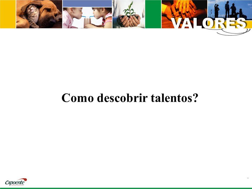 Como descobrir talentos?