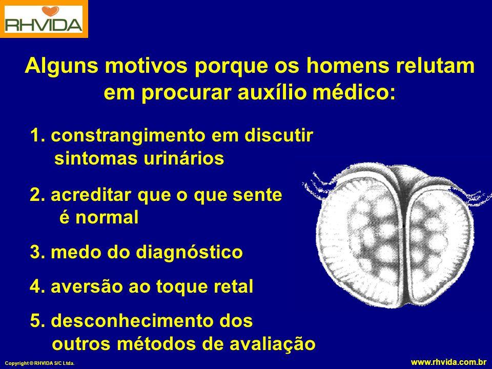 www.rhvida.com.br Copyright © RHVIDA S/C Ltda.1. constrangimento em discutir sintomas urinários 2.
