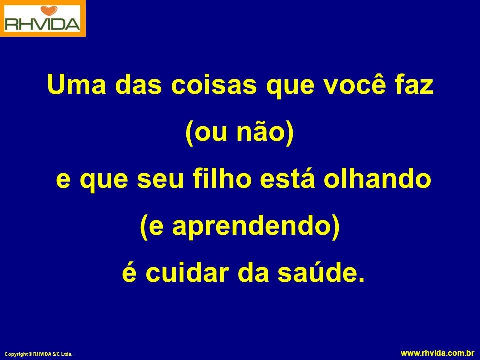 www.rhvida.com.br Copyright © RHVIDA S/C Ltda.FATORES DE RISCO para tumores na próstata 1.
