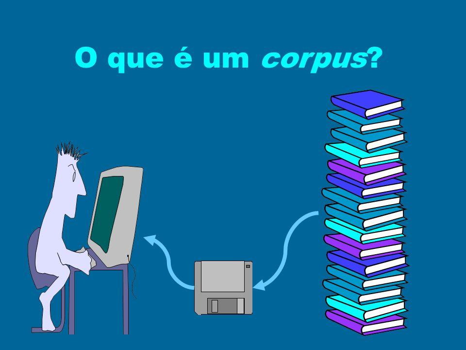 O que é um corpus?