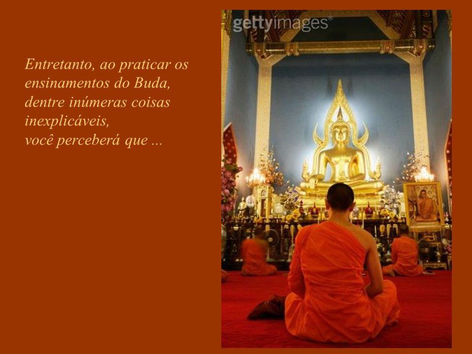 Se você quer um caminho para Deus, não procure o Budismo... Ele o lançará no vazio.