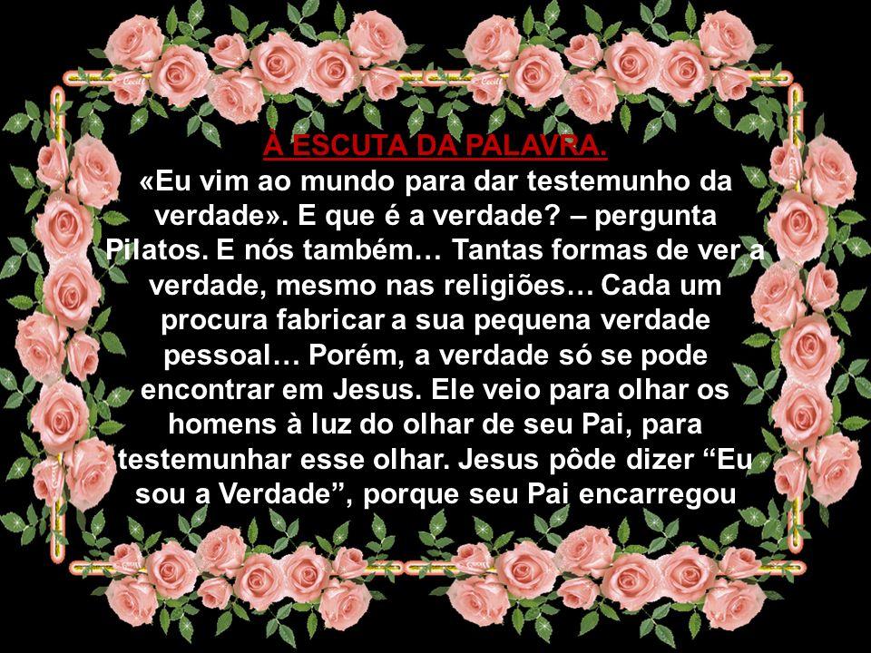Compete-nos a nós, discípulos de Jesus, fazer com que esse reino seja, cada vez mais, uma realidade bem viva, bem presente, bem atuante no nosso mundo