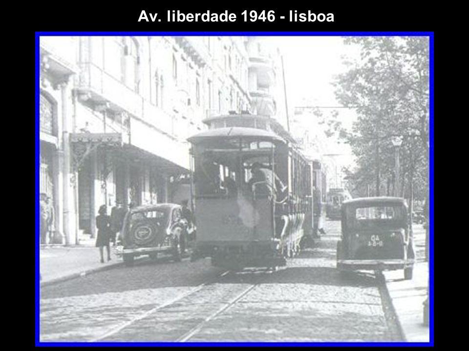 Av. liberdade 1946 - lisboa