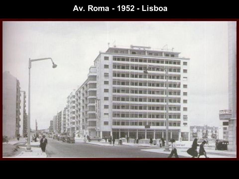 Av. Roma - 1952 - Lisboa