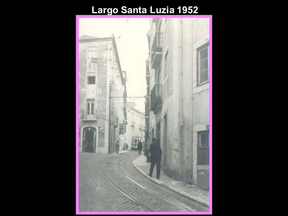 Largo Santa Luzia 1952