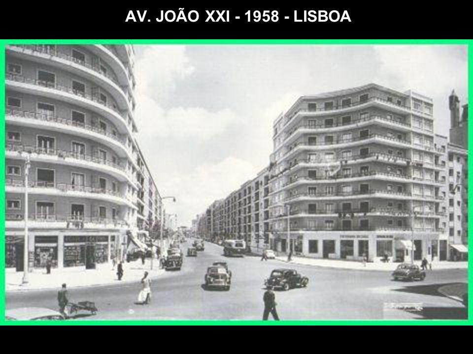 AV. JOÃO XXI - 1958 - LISBOA