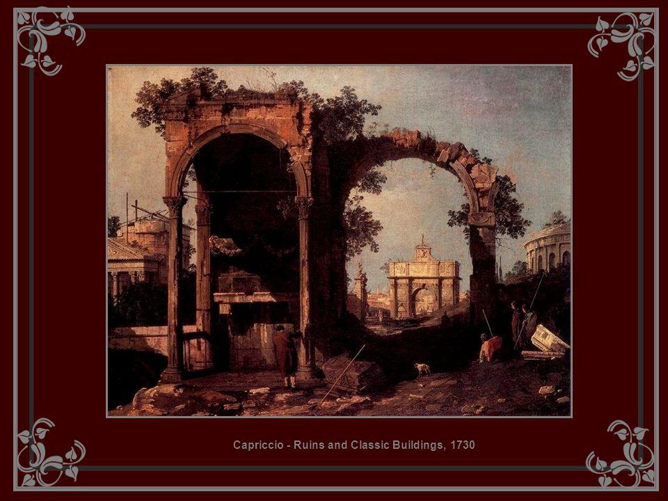 Capriccio - Ruins and Classic Buildings, 1730