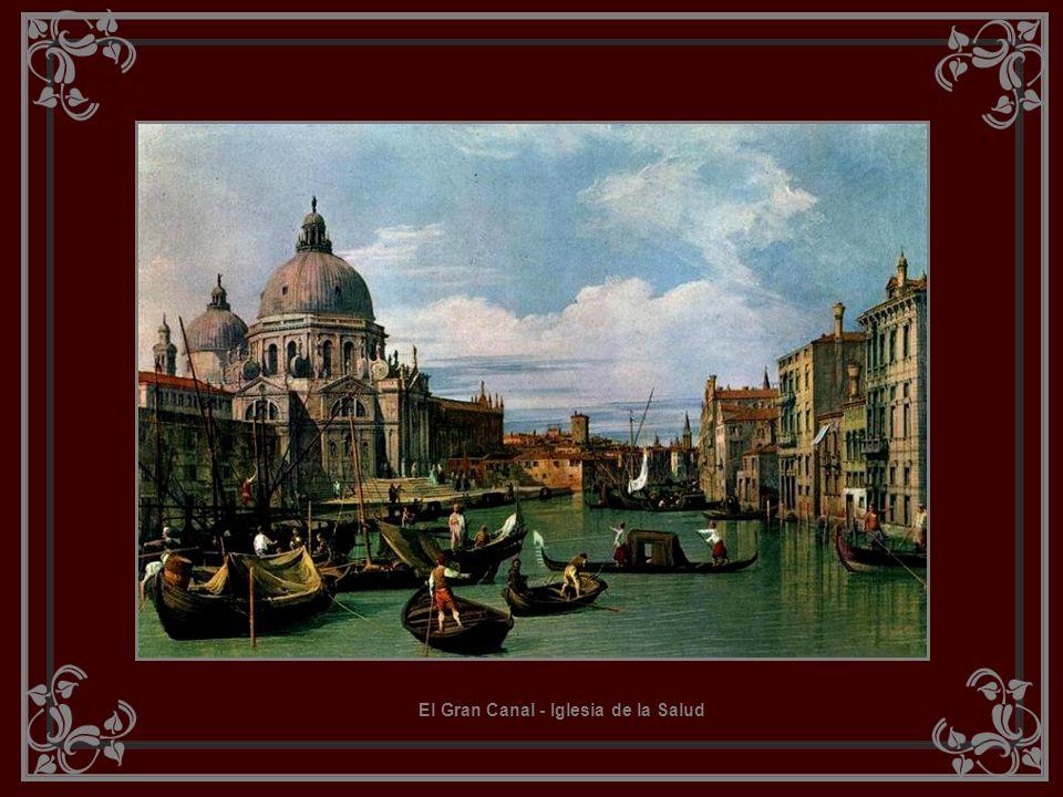 GIOVANNI ANTONIO CANAL, o CANALETTO (Pintor italiano ) 1697 - 1768 Pintor italiano nascido em Veneza, famoso por retratar a atmosfera própria de Venez