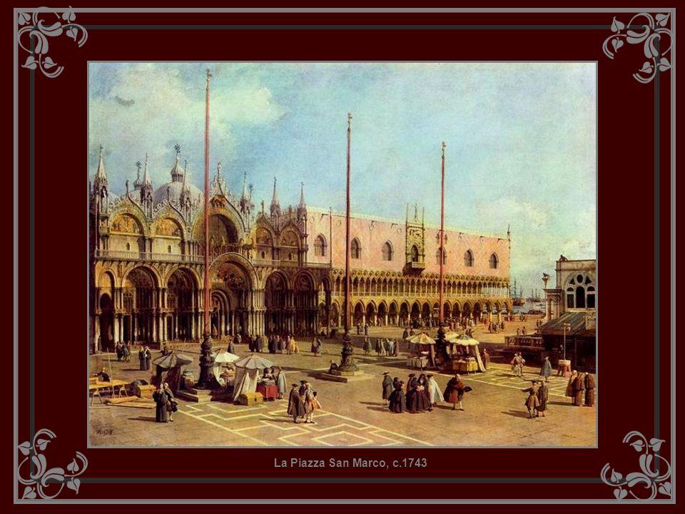 La Piazza San Marco, c.1743