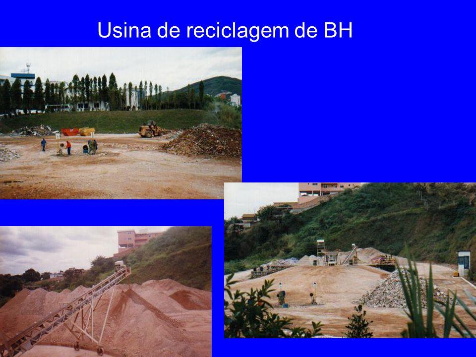 Usina de reciclagem de BH