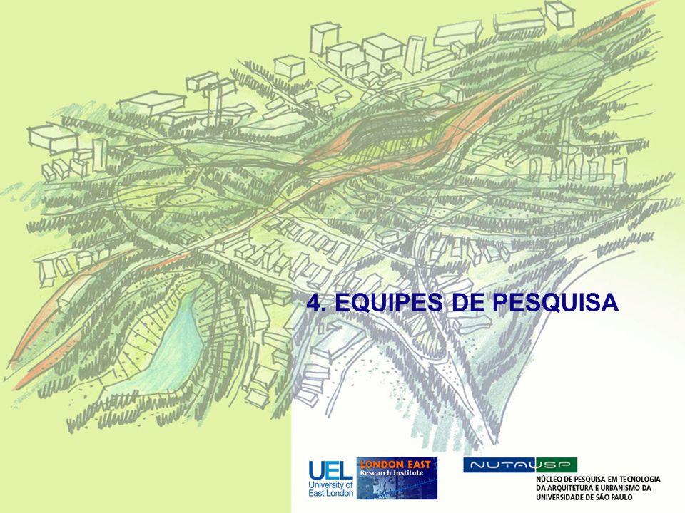 4. EQUIPES DE PESQUISA