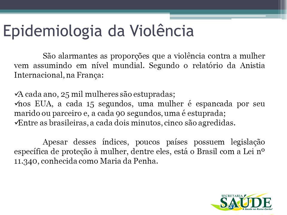 São alarmantes as proporções que a violência contra a mulher vem assumindo em nível mundial. Segundo o relatório da Anistia Internacional, na França: