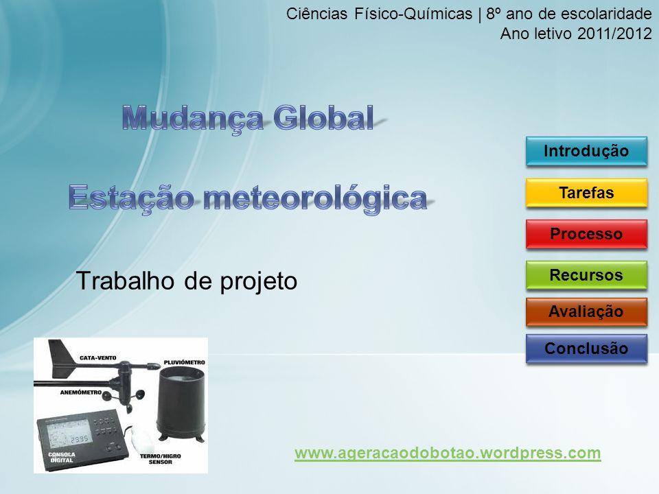 Ciências Físico-Químicas | 8º ano de escolaridade2 Ano letivo 2011/2012 | Prof.