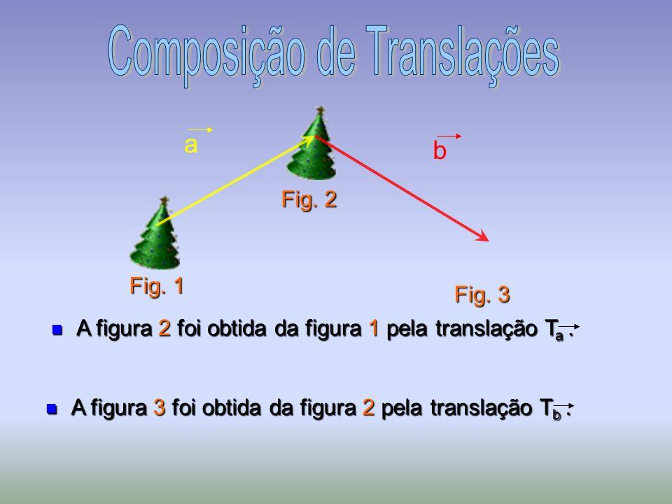 A figura 3 foi obtida da figura 2 pela translação T b.