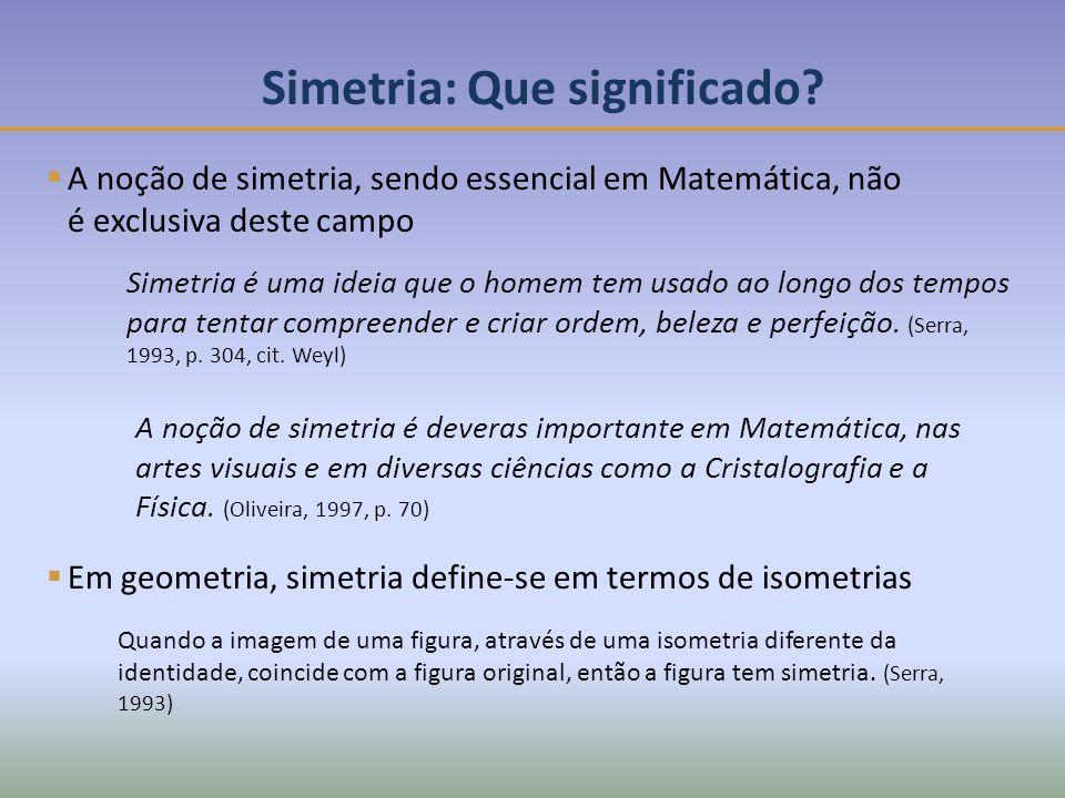 Simetria: Que significado.