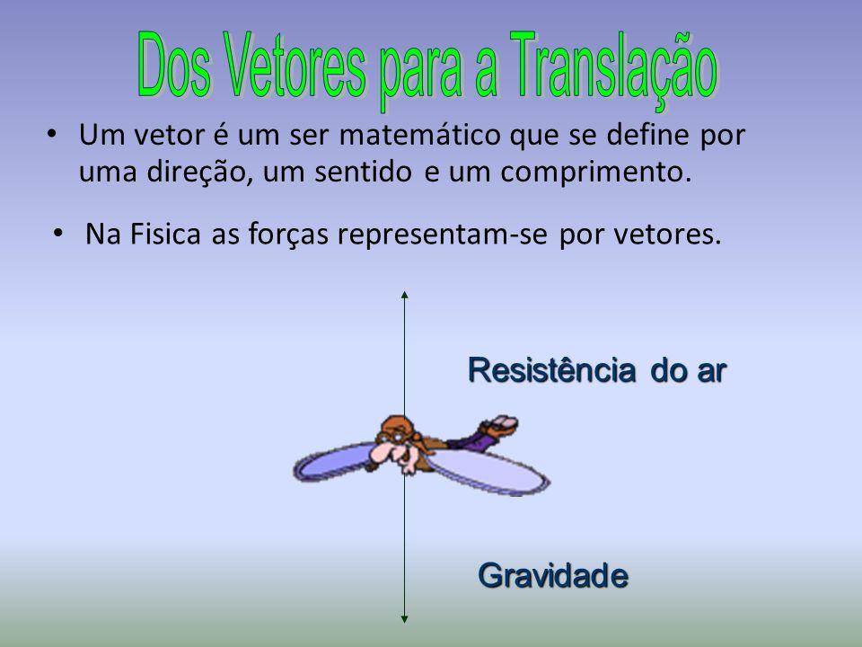 Na Fisica as forças representam-se por vetores.