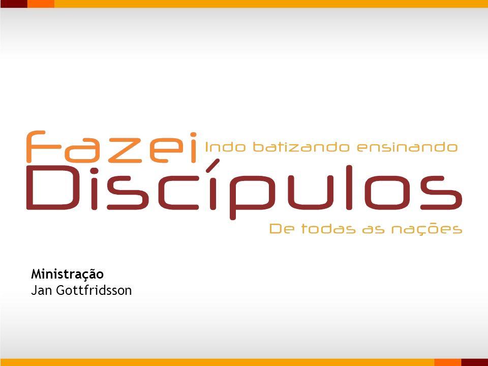 O discipulado surge do vínculo natural em nossa tarefa de fazer discípulos.