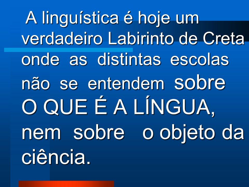 A linguística é uma ciência na qual não existe consenso. A linguística é uma ciência na qual não existe consenso.