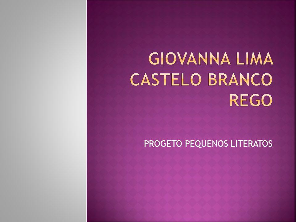 PROGETO PEQUENOS LITERATOS