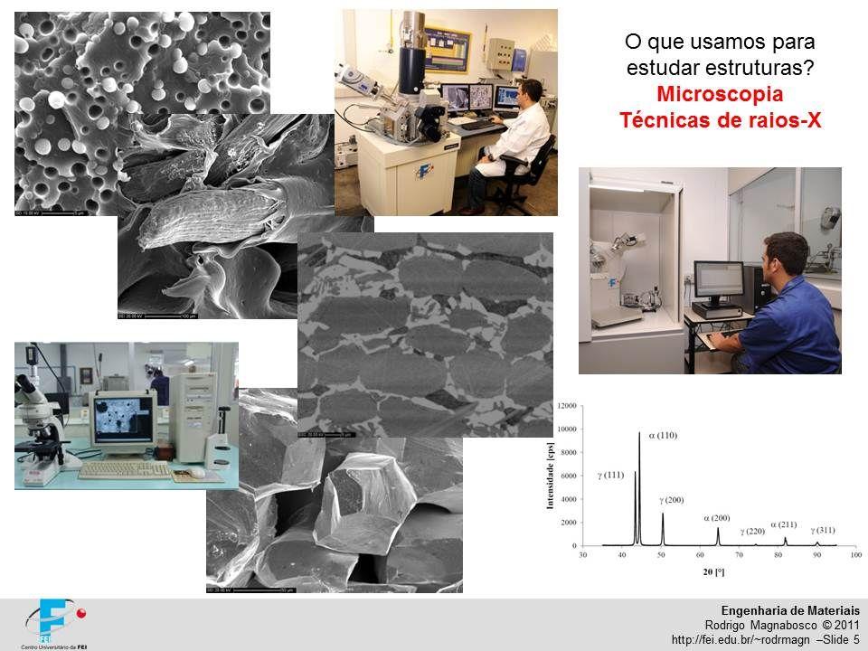 Engenharia de Materiais Rodrigo Magnabosco © 2011 http://fei.edu.br/~rodrmagn –Slide 5