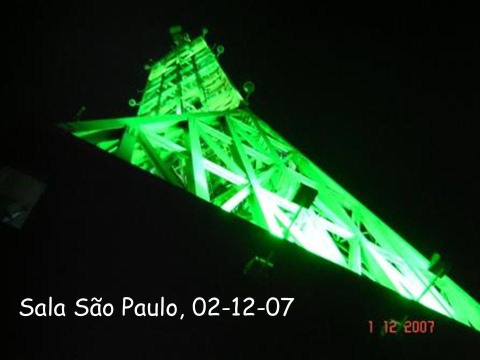Laboratório de RF Sala São Paulo, 02-12-07