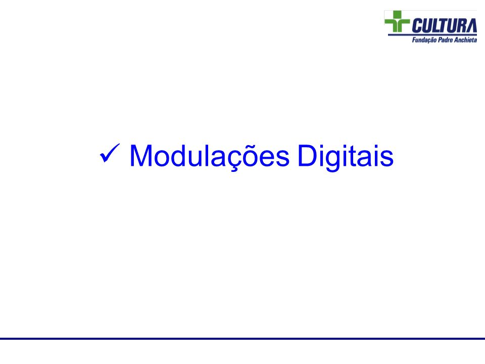 Laboratório de RF Modulações Digitais