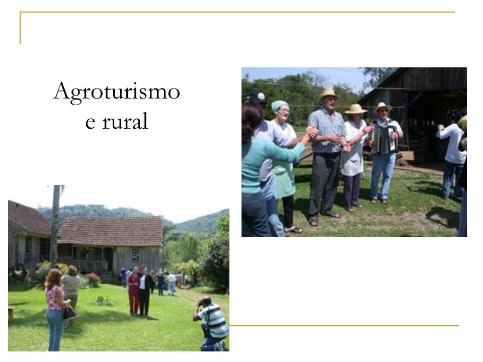 Agroturismo e rural