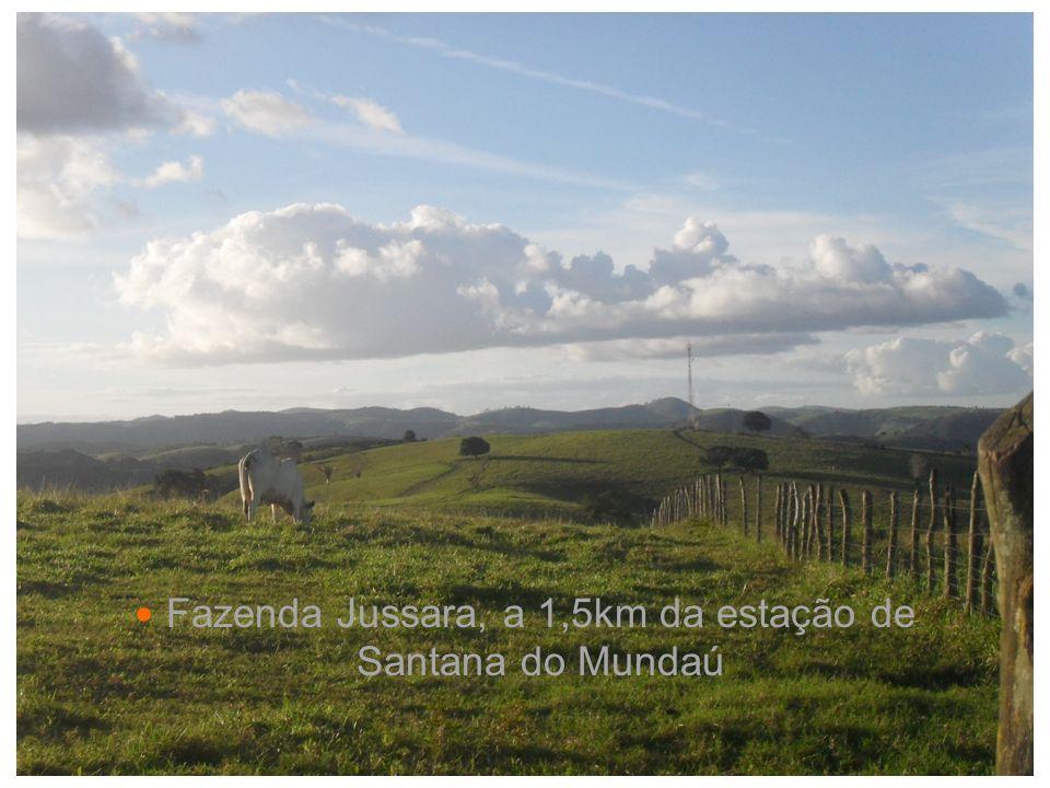 Fazenda Jussara, a 1,5km da estação de Santana do Mundaú
