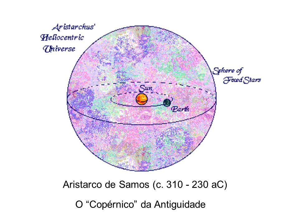 Aristarco de Samos (c. 310 - 230 aC) O Copérnico da Antiguidade