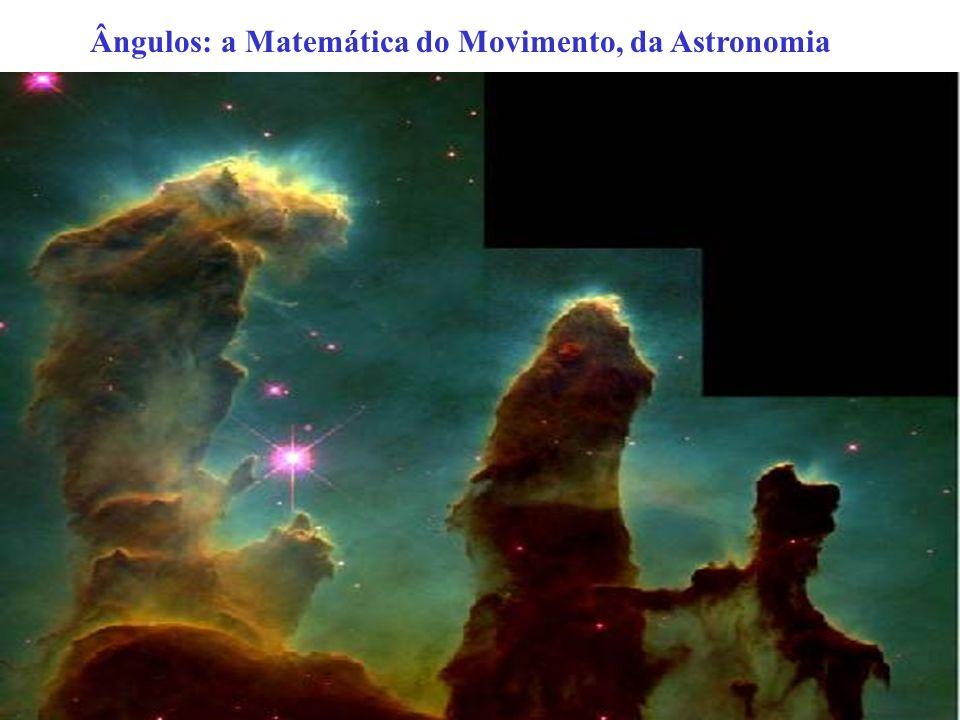 Ângulos: a Matemática do Movimento, da Astronomia