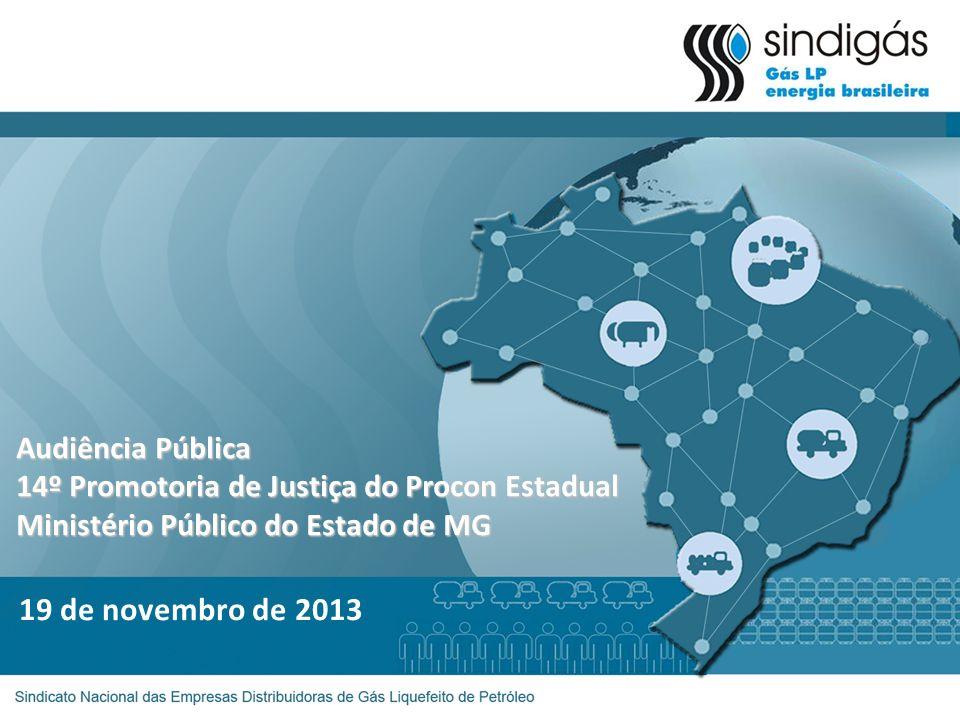 Audiência Pública 14º Promotoria de Justiça do Procon Estadual Ministério Público do Estado de MG 19 de novembro de 2013