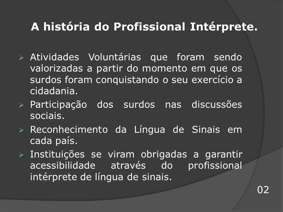 O tradutor e intérprete de língua brasileira de sinais e língua portuguesa / Secretaria de Educação Especial; Programa Nacional de Apoio à Educação de Surdos - Brasília : MEC ; SEESP, 2004.