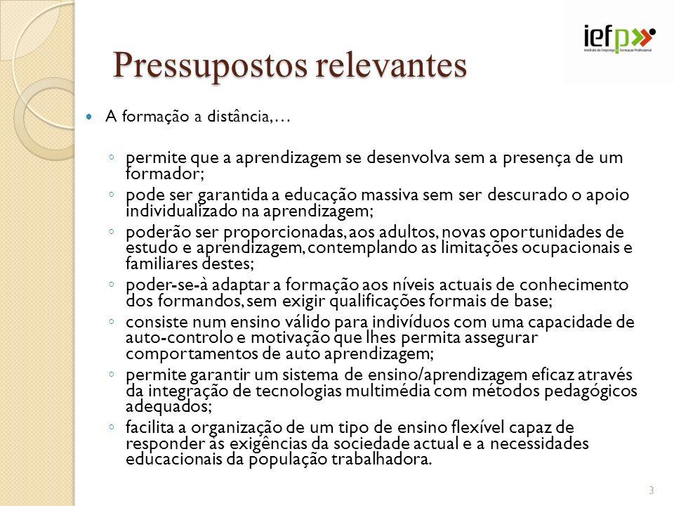 INTERVENIENTES NUM PROCESSO TÍPICO DE EAD COORDENADOR CRIA E CONFIGURA CURSOS CRIA E CONFIGURA CURSOS CRIA E MOSTRA DIRECTÓRIOS DE FICHEIROS CRIA E MOSTRA DIRECTÓRIOS DE FICHEIROS CRIA RECURSOS E ACTIVIDADES CRIA RECURSOS E ACTIVIDADES GERE FORMADORES DE UM CURSO, GRUPOS E UTILIZADORES GERE FORMADORES DE UM CURSO, GRUPOS E UTILIZADORES CRIA AS FUNÇÕES PARA AVALIAÇÃO CRIA AS FUNÇÕES PARA AVALIAÇÃO GERE EVENTOS GERE EVENTOS 34
