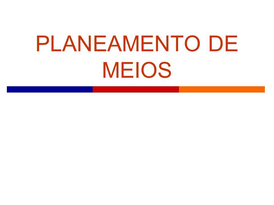 PLANEAMENTO DE MEIOS