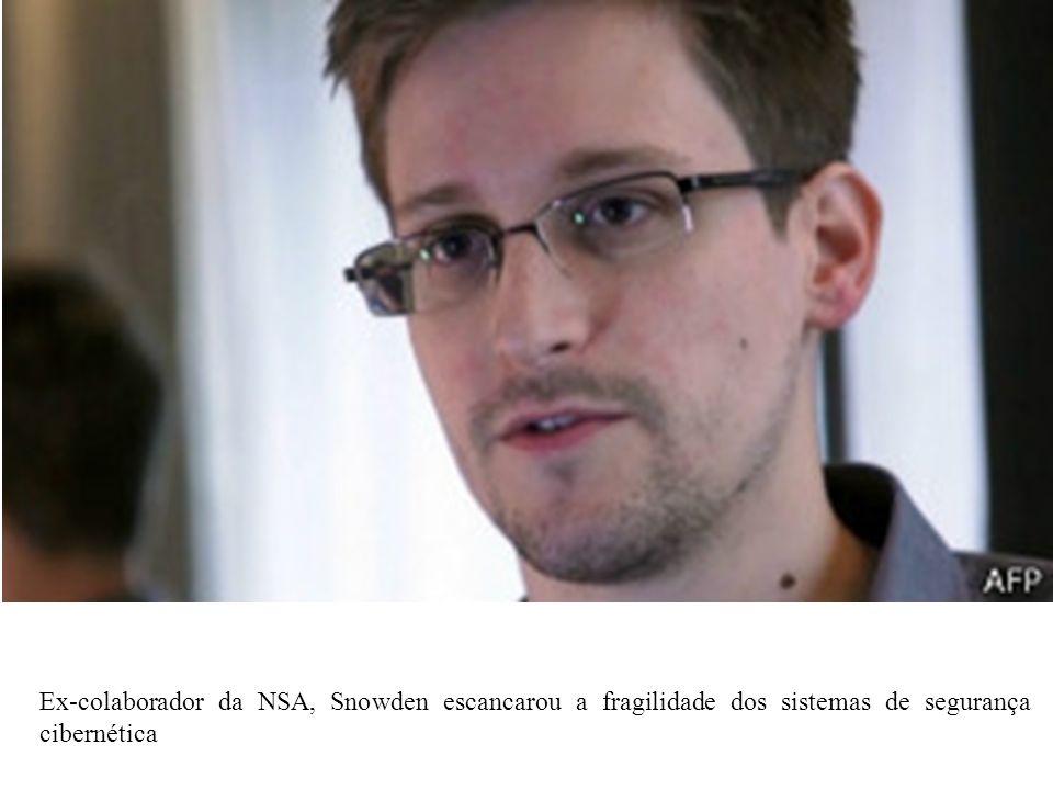 Ex-colaborador da NSA, Snowden escancarou a fragilidade dos sistemas de segurança cibernética