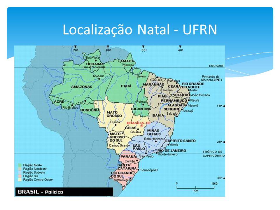Localização Natal - UFRN