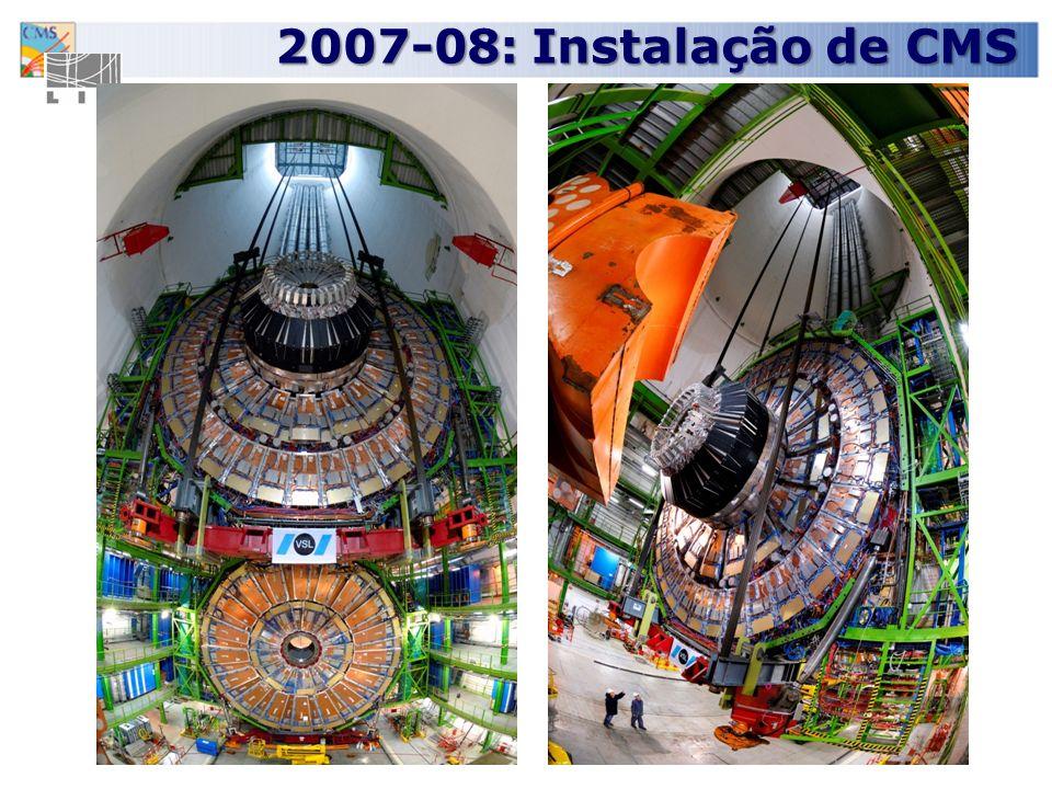 20 2007-08: Instalação de CMS