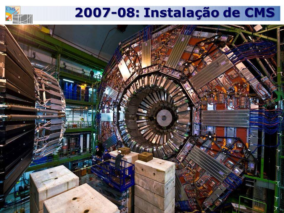 21 2007-08: Instalação de CMS