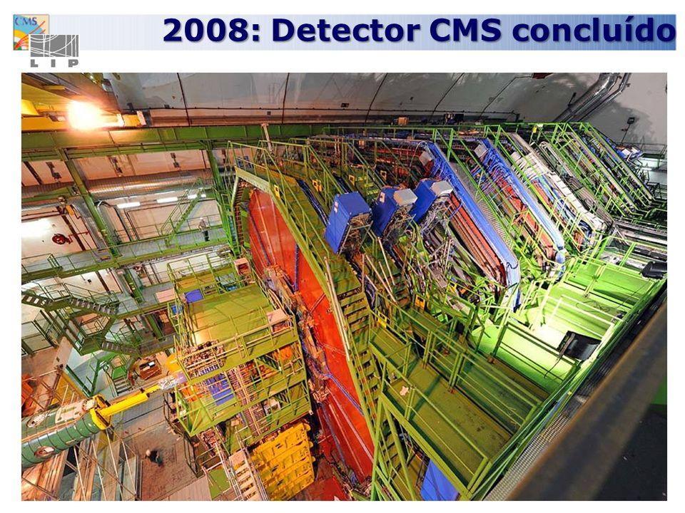 2008: Detector CMS concluído