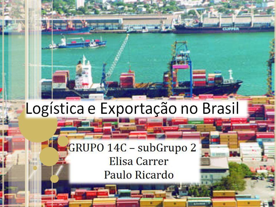 A GRANDE QUESTÃO É … Como as aplicações dos conceitos logísticos poderiam dinamizar nossas exportações e tornar nossos custos logísticos compatíveis com países do primeiro mundo?