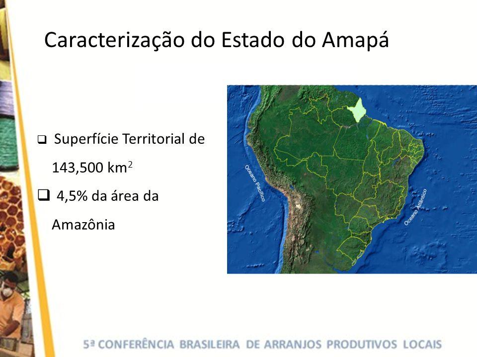 Padronização de boa práticas higiênicas nas Amassadeiras de Açaí Implantação de nova indústria de processamento para abastecer o mercado nacional Construção de Entreposto APL do Açaí: Mercado Local do Amapá