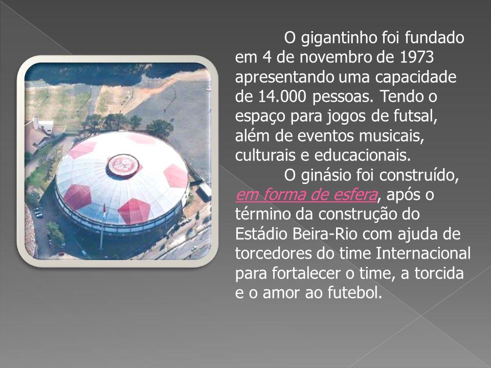 O Planetário professor José Baptista Pereira, foi construído em 1972 e pertence à Universidade Federal do Rio Grande do Sul.