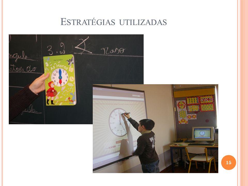 E STRATÉGIAS UTILIZADAS 15