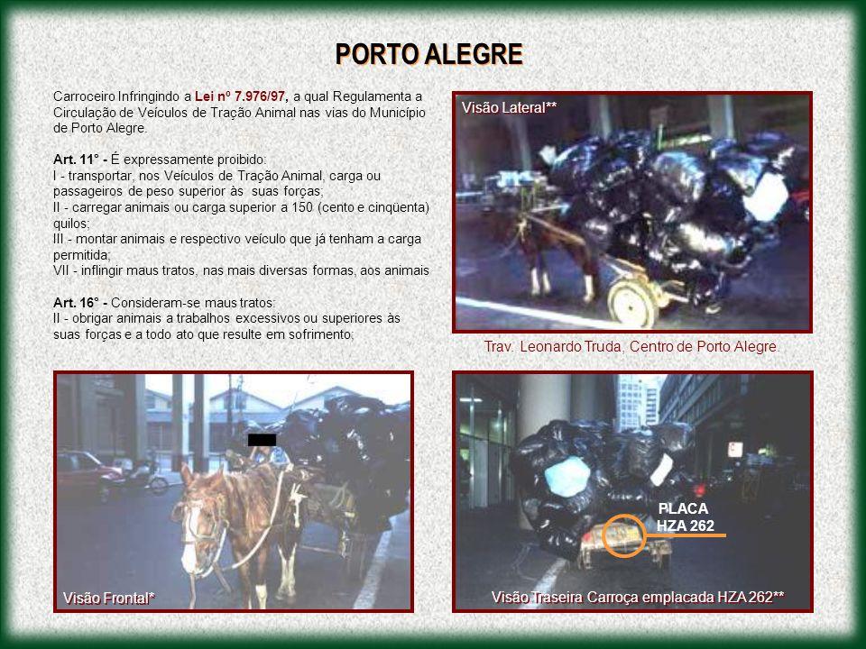 Material colhido do Jornal de Brasília de 20/01/02, Caderno Grande Brasília , sobre as carroças no DF.