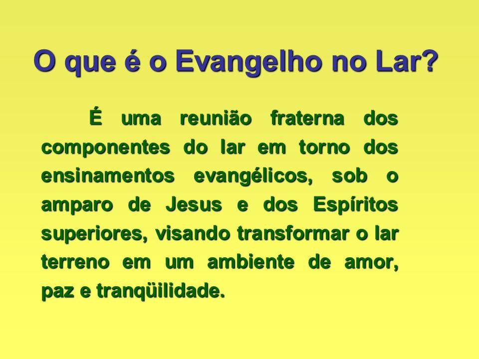 QUEM INSTITUIU O EVANGELHO NO LAR? Jesus
